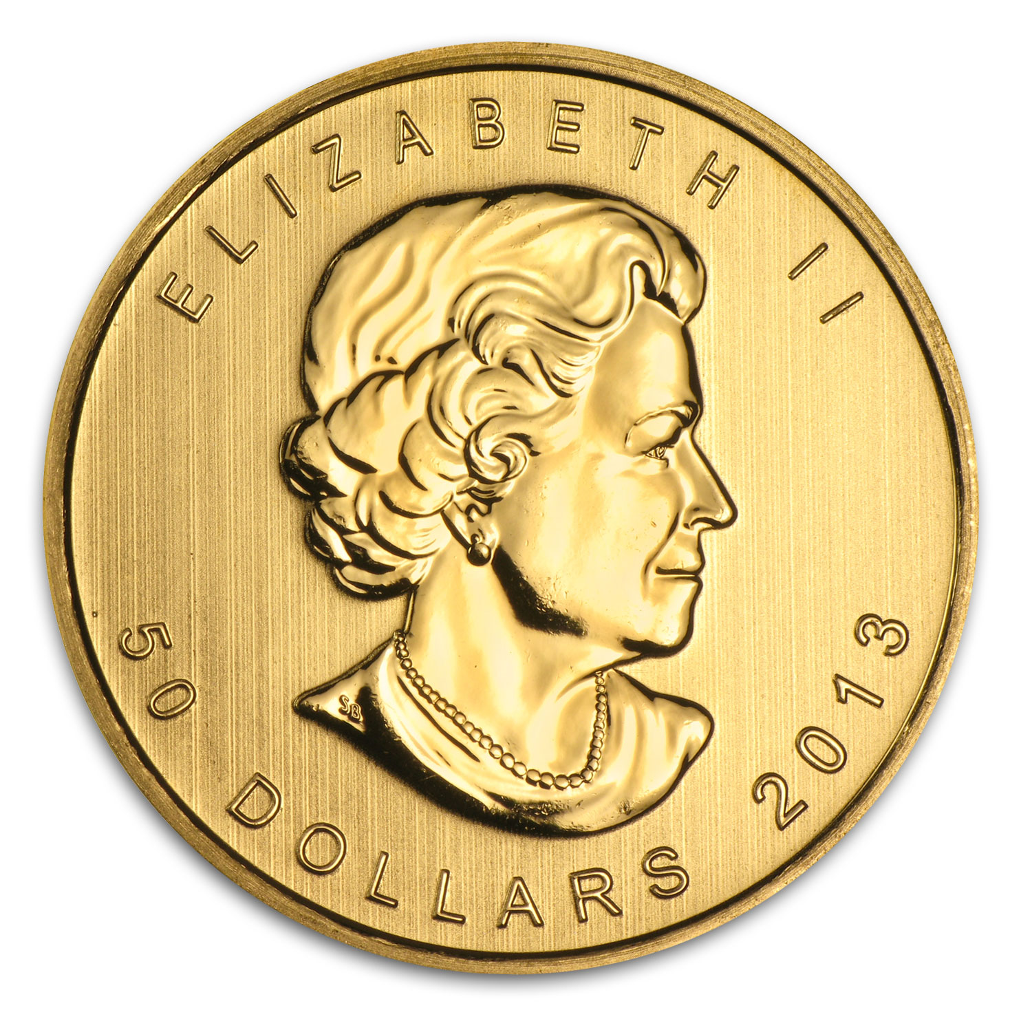 2013 1 oz Gold Canadian Maple Leafs (10-Coin MintDirect® Tube)